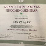 JGP Asian Fusion Certificate