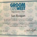 Groom Expo West Cert 2018